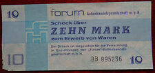 GERMANY 10 MARK DDR  FORUM CHECK BANKNOTE 1979  UNC CONDITION XRARE NR