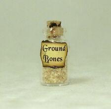 Ground Bones Halloween Witches Brew Magic Potion Bottle Dollhouse Miniatures