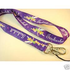 Disney Tinkerbell Purple Neck Lanyard Strap Cell Mobile Phone,ID Card,Key,Gifts