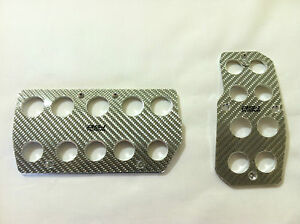 Honda, Acura, Racing Style Carbon Fiber Automatic Gas/Brake Cover Foot Pedal Pad