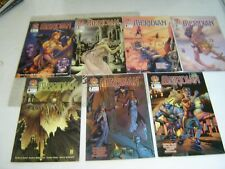 Lot de 7 revues Crossgen MERIDIAN n° 1 ,2, 4 à 8 ( KESEL) COMICS 2000-2001 (VO)