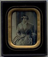 Daguerréotype -  1/4 plaque - Femme -