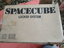 SPACECUBE SPAC01B STRONG PLASTIC LOCKER UNIT WITH 2 KEYS NEVER USED