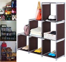Storage Cube Organizer Shelf Closet Toys Purses Shoes Kids Room Playroom Laundry