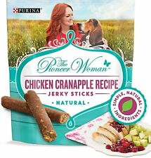 Purina The Pioneer Woman Chicken Cranapple Recipe Jerky Sticks Dog Treats 5 oz