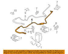 BMW OEM 02-03 745i 4.4L-V8 Transmission Oil Cooler-Outlet tube 17227508029