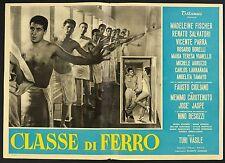 FOTOBUSTA 2, CLASSE DI FERRO, VASILE, MADELINE FISCHER, FAUSTO CIGLIANO, POSTER