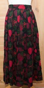 Vintage Wool Mix Skirt Size 38 Pockets Hammerschmid Trachten Sport