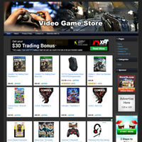 Video Game Store Online Business Website For Sale! Affiliate Make Money At Home!