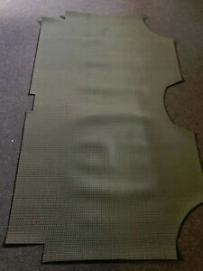 1966-67 impala aqua rubber trunk mat for HT models