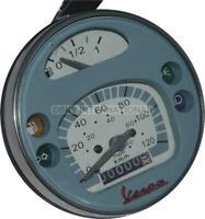 Speedometer / Tacho Vespa Lml Px Lusso 80, 125, 150, 200, 120Km/H/80 Mph Grey