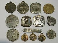 M237 Los mit 14 Medaillen zur Stadt Berlin Messing Bronze ua 18-50mm zus130g rar
