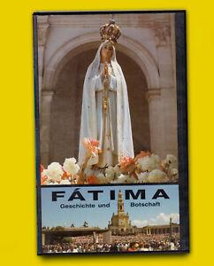 FATIMA Geschichte und Botschaft VHS 1916 DOKU Pilger PAPST Johannes Paul II VI
