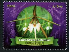 Peru 2017 Orchidee Blume Blüte Pflanze Orchi Flower Blossom Plant Postfrisch MNH