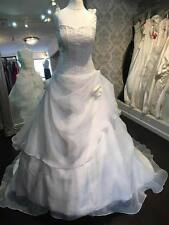 Princess beaded bodice Wedding Dress UK size 12 Ivory