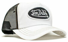 Da van Dutch Mesh Trucker base Cap [classic white black] Berretto Cappuccio Basecap V