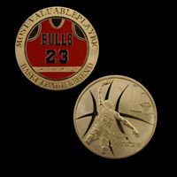 Metal Commemorative Coin Basketball Fans Gift Challenge Coin with Collection