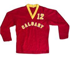 Vintage Sparlings Red Calgary Volleyball Jersey #12 Men's Medium