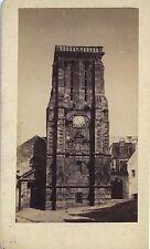Bretagne Morlaix l'Eglise Saint Mathieu CDV Photo VintageAlbumine