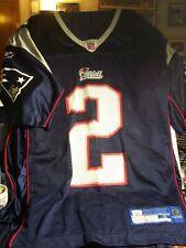 Rare Vintage Reebok New England Patriots Doug Flutie #2 Jersey Mens S Small
