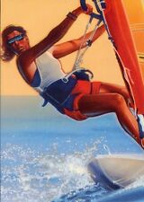 1996 USPS POSTAL CARD CENTENNIAL OLYMPIC GAMES WOMEN'S SAILBOARDING FDC OFFICIAL