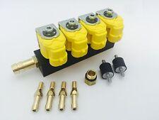 Valtek Rail Einspritzleiste LPG Autogas Typ 30 1 Ohm für 4 Zylinder mit Zubehör