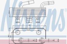 NISSENS 90657 OIL COOLER AUTOMATIC TRANSMISSION