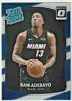2017-18 Donruss Optic #187 Bam Adebayo RR RC