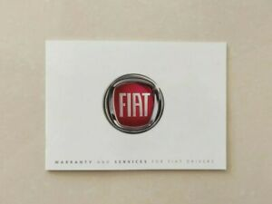 💯ORIGINAL New FIAT SERVICE HISTORY BOOK 500 500C 500X 500L PANDA PUNTO TIPO