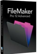 FileMaker Pro 12 Advanced Full Version for Windows & Mac Permanent License