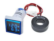 //-100A Strom-messer digital amp Messgerät Amperemeter LED induktive Mesung!!