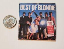 Miniature record album Barbie Gi Joe 1/6 Playscale Action Figure Blondie