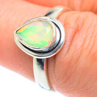 Ethiopian Opal 925 Sterling Silver Ring Size 7.5 Ana Co Jewelry R52801F