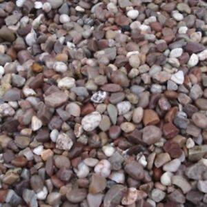 DECORATIVE AGGREGATE STAFFORDSHIRE/CHESHIRE PINK GRAVEL CHIPPINGS 20MM 25kg BAG