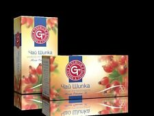 GT Natural Product Rose Hip Tea,Rich in Vit.C-Elixir of Nature 20 Sachet of Box
