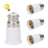 4X B22 Baïonnette Cap à E27 Edison Vis Ampoule Convertisseur Adaptateur