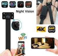 1080P Wireless WIFI DIY pinhole Spy Hidden Camera Mini video DVR Security Remote