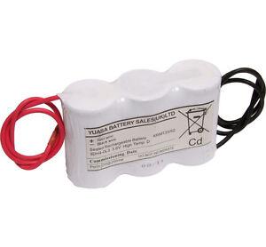 Yuasa 3DH4-0L3, 3.6V 4AH Ni-Cd Rechargeable Emergency Lighting Battery Pack