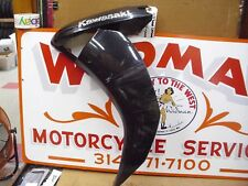 LEFT SIDE OEM FAIRING 10-16 Concours 14 ZG1400 cowling body panel, Black, Used.#