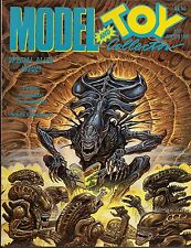 Model and Toy Collector #17 1991 ALIEN AND MONSTER TOY ISSUE