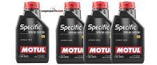 Aceite Motor Motul SPECIFIC VW 508.00 509.00 0W20 DPF ACEA A1/B1 pack 4 litros
