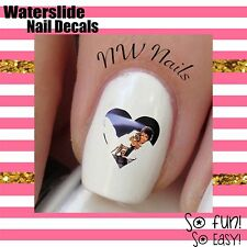 Michael Jackson Heart Nail Art Waterslide Decals *Salon Quality