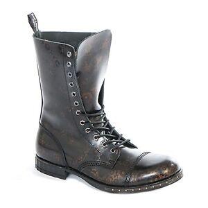 Boots & Braces 12 Loch Steampunk GEAR Stiefel Gothik Ranger Steam Punk Leder