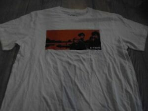 U2 t shirt limited edition october large white ex condition
