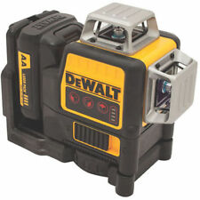 DEWALT 12V 3 x 360 Degrees Red Line Laser DW089LR New
