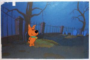 -Rare- Vintage -Scooby-Doo- Scrappy Original TV Animation/Cartoon Production Cel
