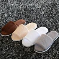 Men Women Lovers Winter Warm House Indoor Slippers Cotton Sandals Warmer ~