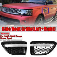 Front Side Fender Air Vent Grille Grill For 2005-2009 Range Rover Sport