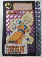 DRAGON BALL Z DBZ SUPER BATTLE PART 8 CARDDASS CARD CARTE 317 JAPAN 1994 NM