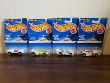 Vintage Hot Wheels 1996 White Ice Series Set of 4 Cars